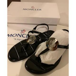 MONCLER - 【新品】モンクレール MONCLER トングサンダル ブラック