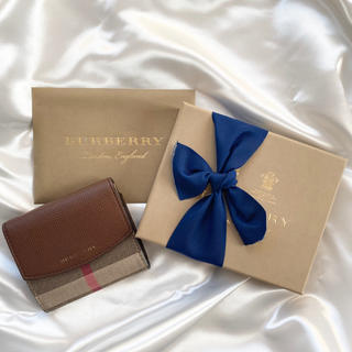 バーバリー(BURBERRY)のBurberry ミニ財布(財布)