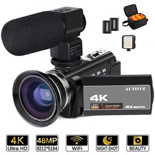 ★キャンペーン★デジタルビデオカメラ 4K 4800万画素