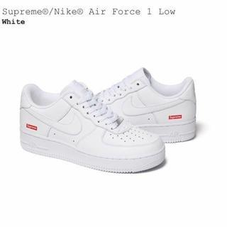 シュプリーム(Supreme)のsupreme Nike air force 1 Low white (スニーカー)