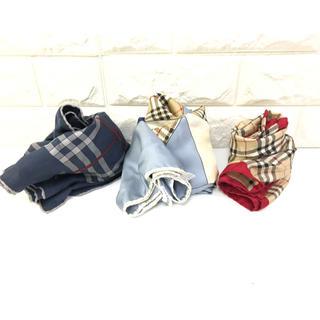 バーバリー(BURBERRY)の714.44 バーバリー スカーフセット売り 大.小(バンダナ/スカーフ)