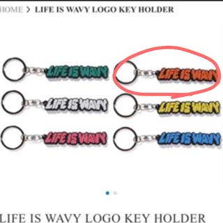 シュプリーム(Supreme)のLIFE IS WAVY LOGO KEY HOLDER  キーホルダー(キーホルダー)