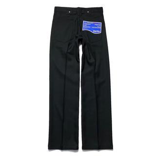 ジエダ(Jieda)のDAIRIKU 20aw PRESSED PANTS BLACK スタプレ 黒(スラックス)