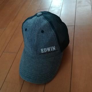 エドウィン(EDWIN)のEDWIN キャップ フリーサイズ(57~59cm)(帽子)