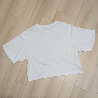 ニコアンド(niko and...)のUSED/ニコ③ ロールアップTシャツ(Tシャツ(半袖/袖なし))