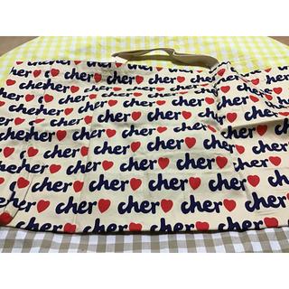 シェル(Cher)のシェル エコバッグ ベージュ 大サイズ (エコバッグ)