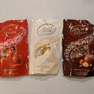 リンツ(Lindt)のリンツリンドールチョコ3袋(菓子/デザート)