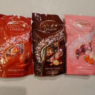 リンツ(Lindt)のリンツ リンドールチョコレート3袋セット(菓子/デザート)