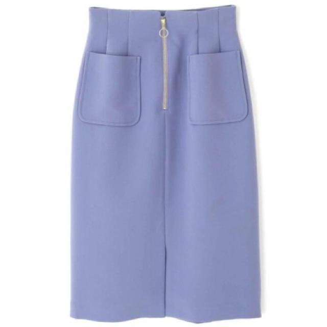 PROPORTION BODY DRESSING(プロポーションボディドレッシング)のプロポーションボディドレッシング *フロントファスナースカート レディースのスカート(ひざ丈スカート)の商品写真