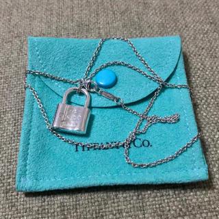 Tiffany & Co. - ティファニー カデナ ロック ペンダント ネックレス 南京錠 シルバー925