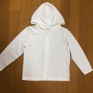 ニシマツヤ(西松屋)の薄手のパーカー リボン柄 110(ジャケット/上着)