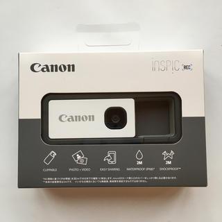 Canon - Canon キャノン アソビカメラ inspic rec グレー ほぼ新品