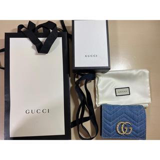グッチ(Gucci)のGUCCI 財布 デニム(財布)