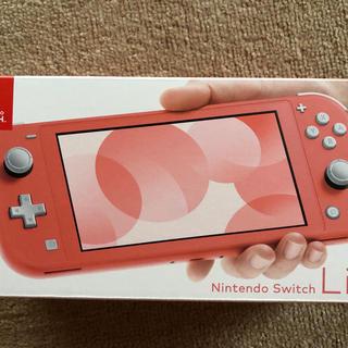 Nintendo Switch - 新品 Nintendo Switch Lite スイッチライト コーラルピンク