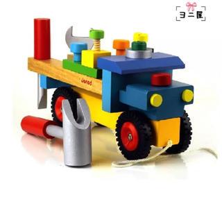 男の子木製玩具 知育玩具 子供プレゼント 3歳4歳5歳 積み木おもちゃ 木製玩具