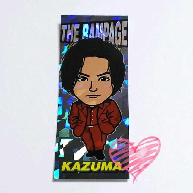 THE RAMPAGE(ザランページ)の川村壱馬 千社札 レア エンタメ/ホビーのタレントグッズ(男性タレント)の商品写真