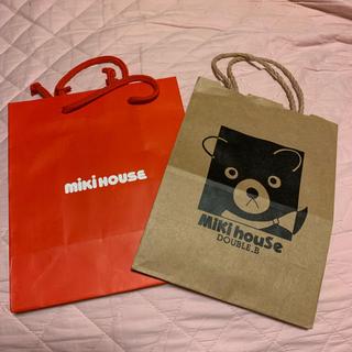ミキハウス(mikihouse)のミキハウス紙袋セット(ショップ袋)