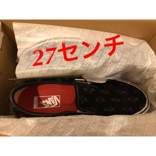 シュプリーム(Supreme)のSupreme Vans Hole Punch Denim Slip-On (スニーカー)