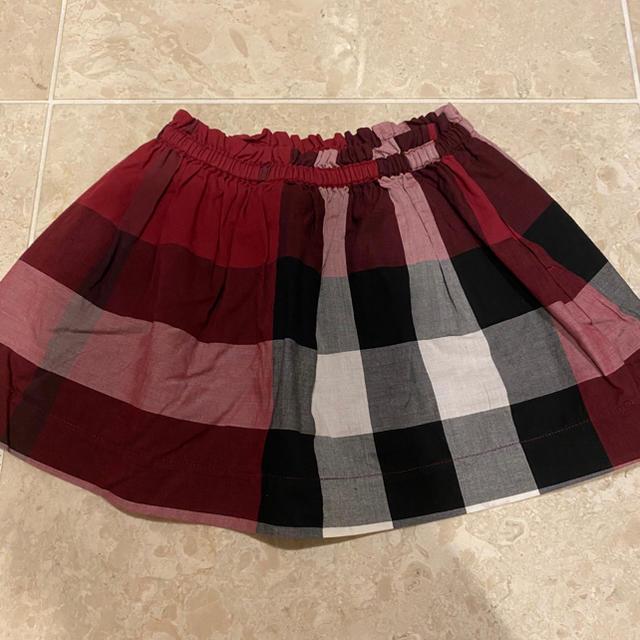 BURBERRY(バーバリー)のバーバリー チルドレン キッズ ノバチェック スカート 3y 100cm キッズ/ベビー/マタニティのキッズ服女の子用(90cm~)(スカート)の商品写真