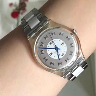スウォッチ(swatch)の可愛いスウォッチ腕時計 スケルトン   ユニセックス 稼働中(腕時計)
