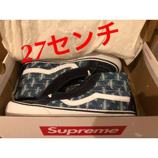 シュプリーム(Supreme)のSupreme Vans Hole Punch Denim Sk8-Hi Pro(スニーカー)