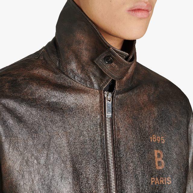 Berluti(ベルルッティ)の新品ベルルッティ ミリタリーフライト レザージャケット メンズのジャケット/アウター(レザージャケット)の商品写真