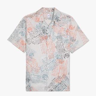 ベルルッティ(Berluti)の新品ベルルッティ プリント シルク オーバーサイズ シャツ(シャツ)