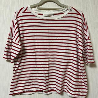 ニコアンド(niko and...)のniko and …ボーダーカットソー Tシャツ(Tシャツ(半袖/袖なし))