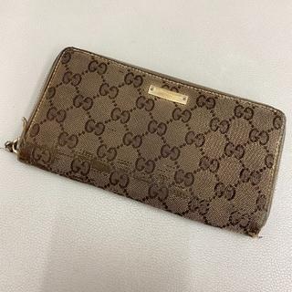 グッチ(Gucci)の【K806】 GUCCI グッチ 長財布 GGキャンバス(財布)