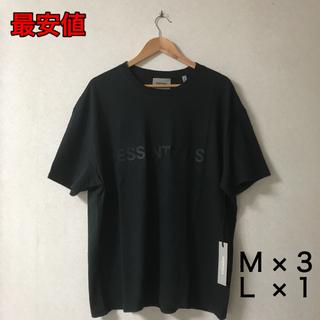 フィアオブゴッド(FEAR OF GOD)の【FOG ESSENTIALS 】S/S Tee Black(Tシャツ/カットソー(半袖/袖なし))