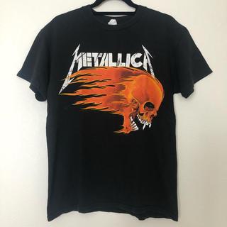 フィアオブゴッド(FEAR OF GOD)の古着 90年代 METALLICA メタリカ パスヘッド Mサイズ Tシャツ (Tシャツ/カットソー(半袖/袖なし))