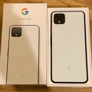ANDROID - Google pixel4 XL SIMフリー 128GB ホワイトおまけ有