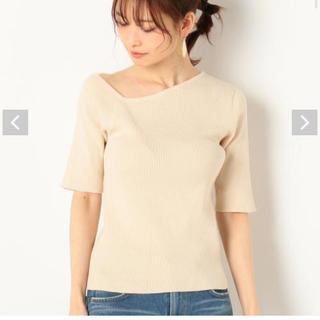 アルシーヴ(archives)のarchives アルシーヴ/ワンショルリブニット(Tシャツ(半袖/袖なし))