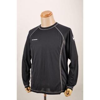 マムート(Mammut)のマムートXL メンズ 長袖Tシャツ MAMMUT速乾 メッシュ 登山 グレー(Tシャツ/カットソー(七分/長袖))