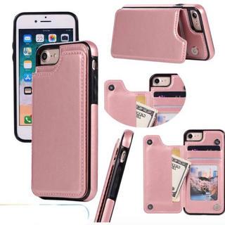iPhone7Plus/8Plus ピンク シンプルスマホケース