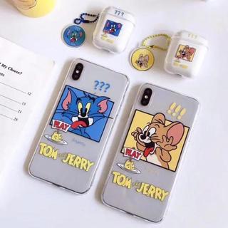 即日発送可能!!トムジェリー iPhone XSケース