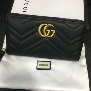 グッチ(Gucci)の美品 GUCCI グッチ ラウンドファスナー  長財布(財布)