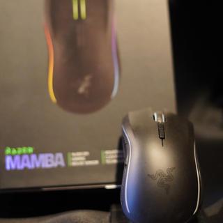 LAZER - RAZER MAMBA マウス 無線 ゲーミング レイザー マンバ