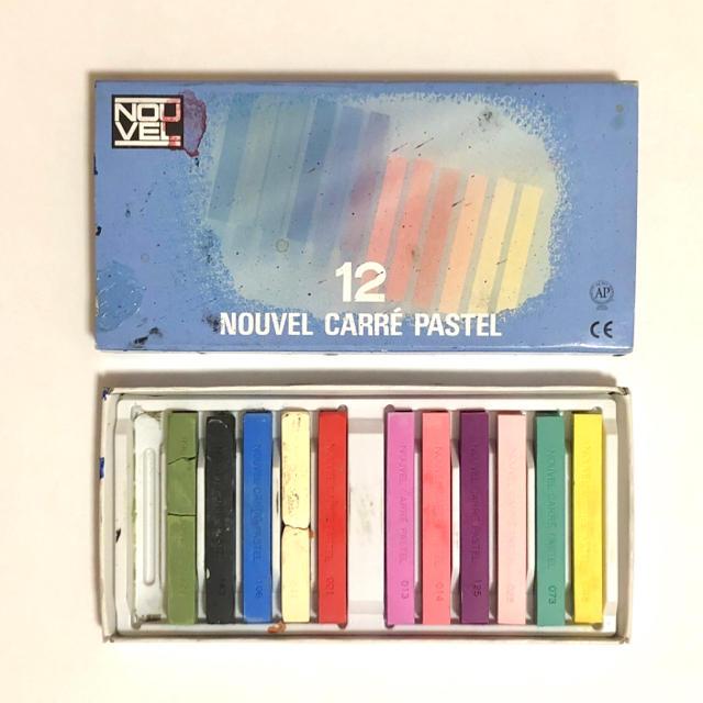 SACRA(サクラ)のSAKURA  ヌーベル カレーパステル 11色 エンタメ/ホビーのアート用品(クレヨン/パステル)の商品写真