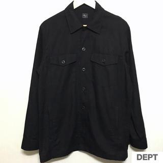 デプト(DEPT)のDEPT CPO デプト カバーオール シャツジャケット 美品 リネン RRL(カバーオール)