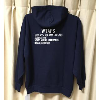 W)taps - w)taps ACADEMY HOODED / SWEATSHIRT. COPO