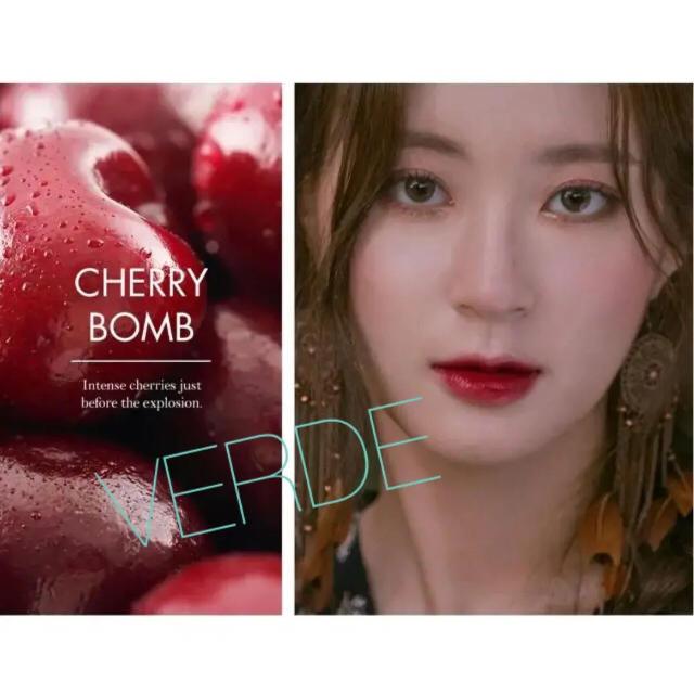 ロムアンド ジューシーラスティング ティント #12 cherrybomb コスメ/美容のベースメイク/化粧品(口紅)の商品写真