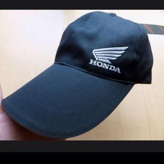 ホンダ(ホンダ)のHONDA リフレキ ウィング キャップ 黒 ブラック 羽 ウイング(装備/装具)
