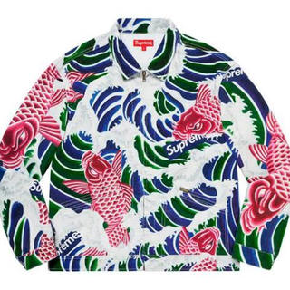 シュプリーム(Supreme)のSupreme Waves Work Jacket (ブルゾン)