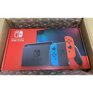 Nintendo Switch - 新品 Ninendo Switch 新型 本体 ネオンブルー / ネオンレッド