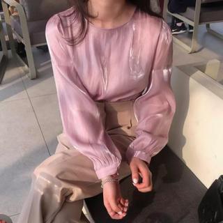 Lochie - ♡ pink satin blouse ♡