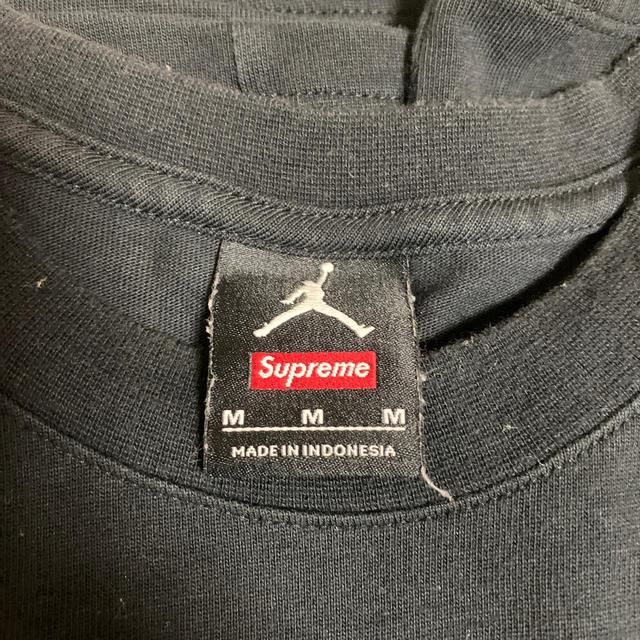 Supreme(シュプリーム)のsupreme 15aw nike Jordan tee  メンズのトップス(Tシャツ/カットソー(半袖/袖なし))の商品写真