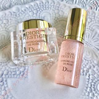 Dior - 【2製品7,847円分】ディオール プレステージ ユイルドローズ ローズキャビア