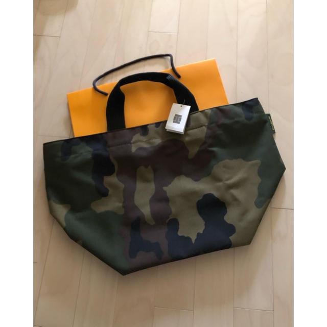 Herve Chapelier(エルベシャプリエ)の未使用★エルベシャプリエ  2925 L ★カモフラ レディースのバッグ(トートバッグ)の商品写真