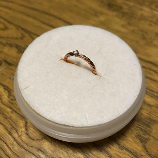 テイクアップ(TAKE-UP)の大幅値引き TakeUp ピンキーリング ゴールドピンク ダイヤ(リング(指輪))